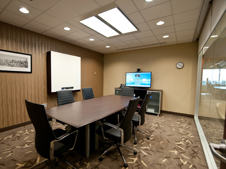 long table meeting room