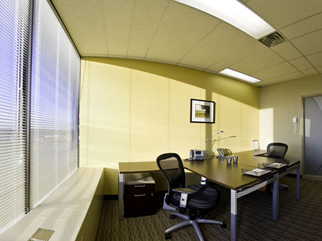 full glass office