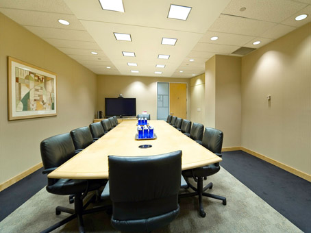 normal meeting room with a long table