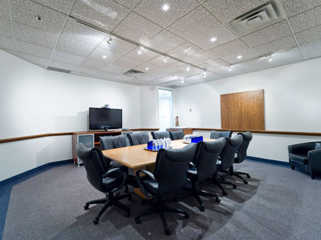 wide meeting room