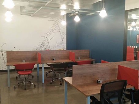 co-working space view