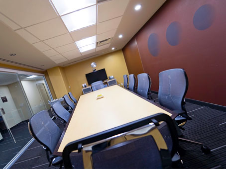 long and big conference room