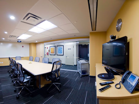 wide and large space meeting room