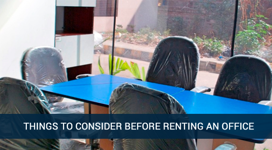 consider this before renting an office