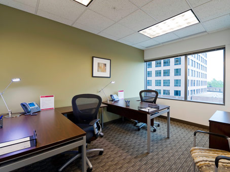 desks with areal view
