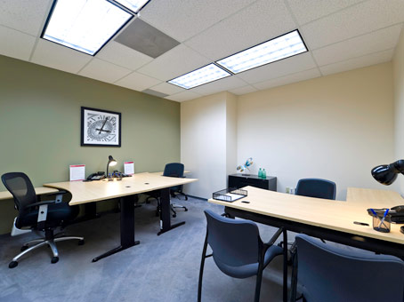 conference room with 2 long table