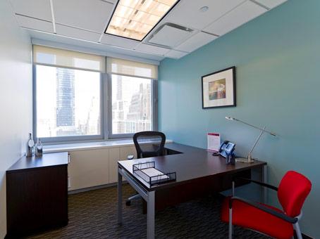 full glass window office