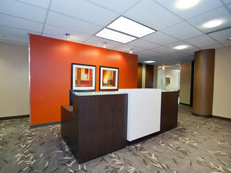 receptionist desks