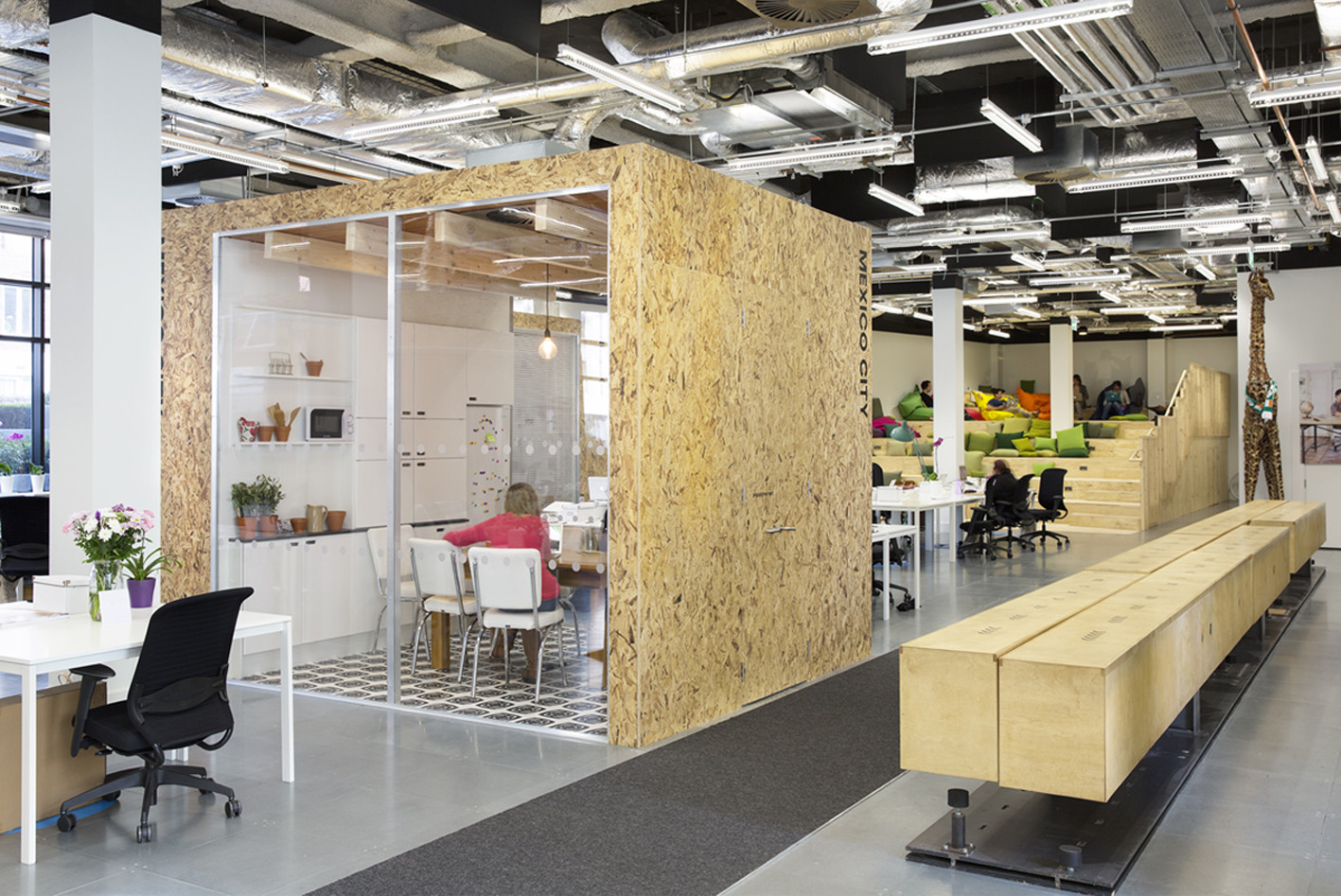 Hybrid Style Office Design