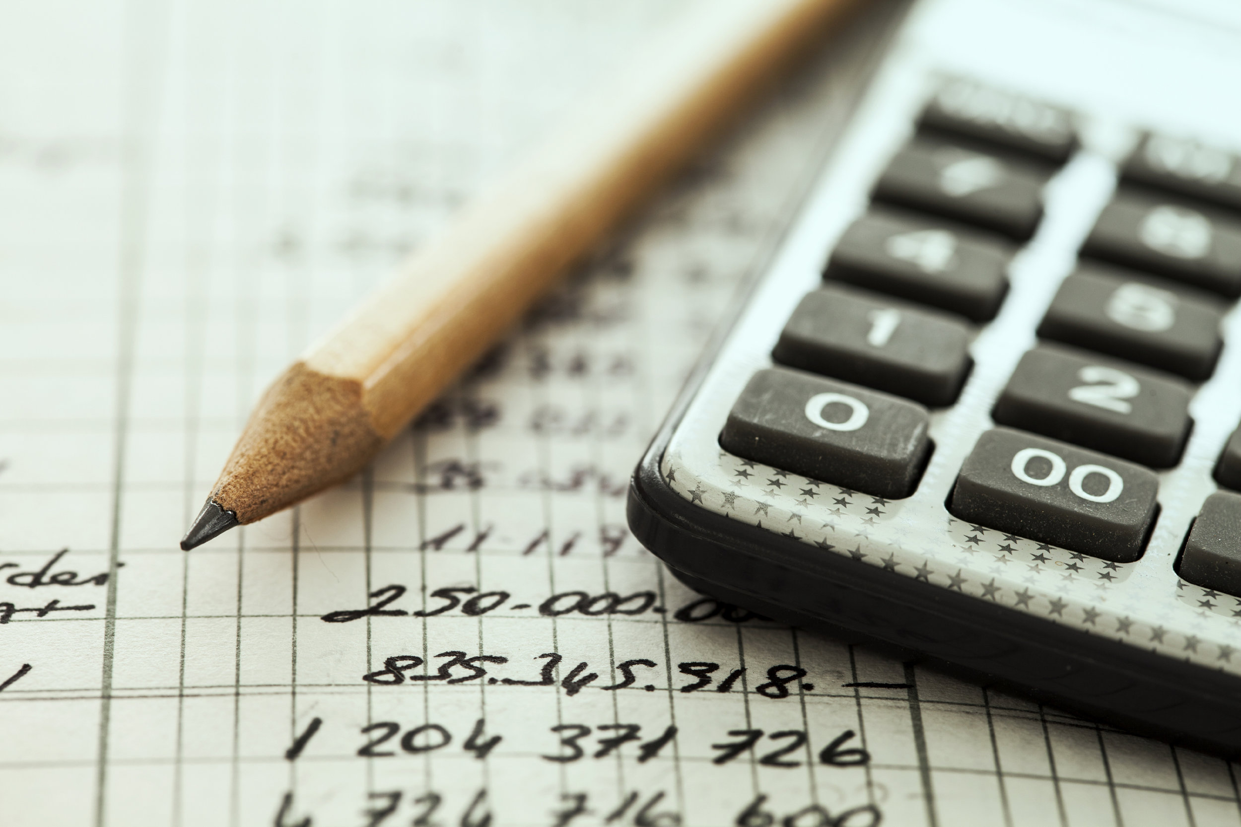 office budget calculator