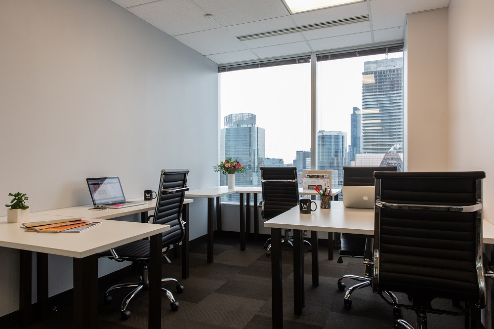 Furnished Private Suites from $1,000 - Priced per person/monthHot desks from $350/monthDedicated desks from $495/monthPlease note, price estimates of this office are subject to change and may vary by several factors including your move-in date, size of space you need, exposure, and length of rental term.
