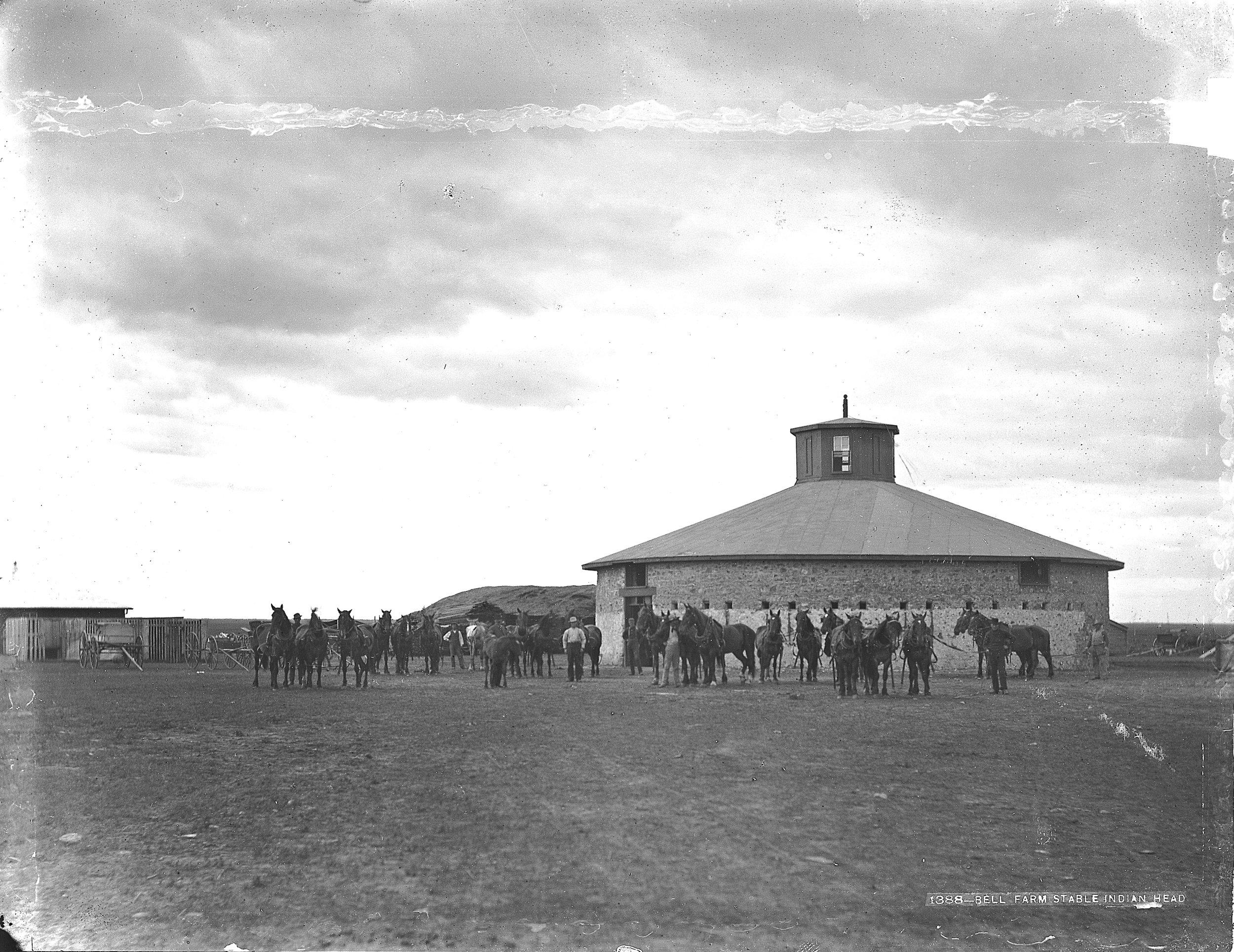 Bell Barn - Indian Head, SK 1882