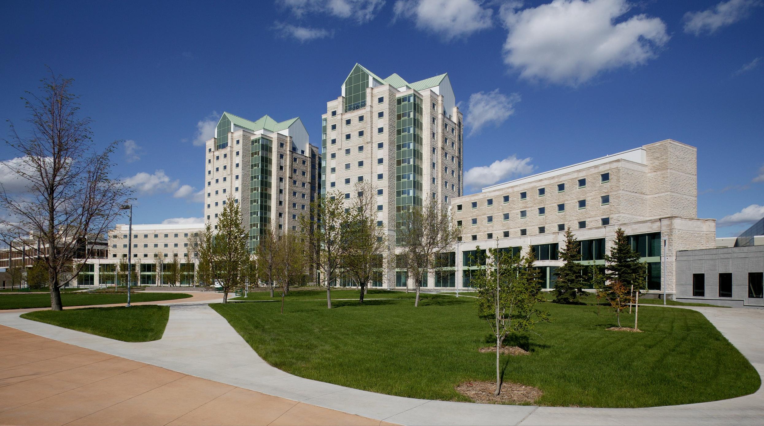 University of Regina, Paskwaw & Wakpa Towers - Regina, SK