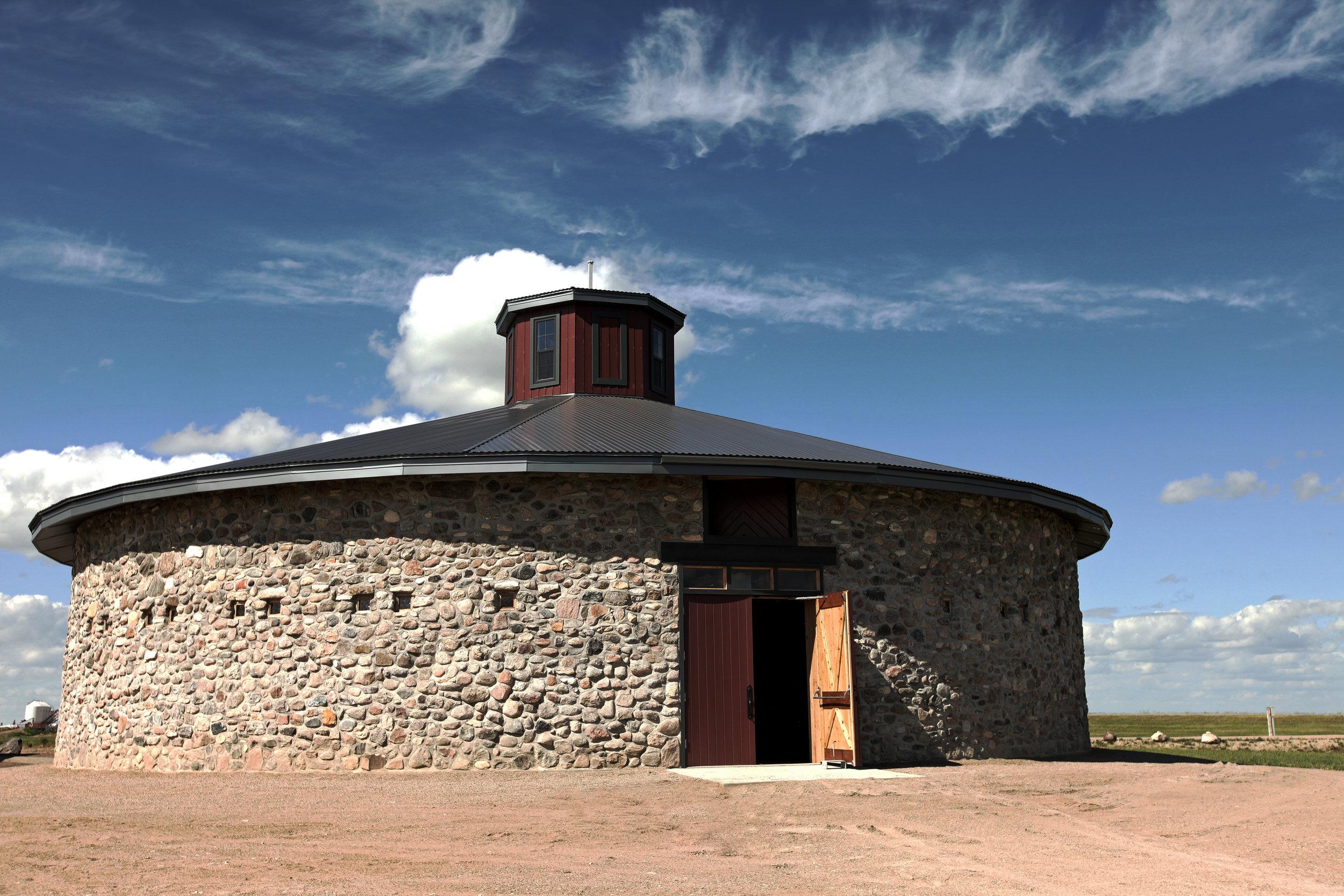Bell Barn Reconstruction - Indian Head, SK