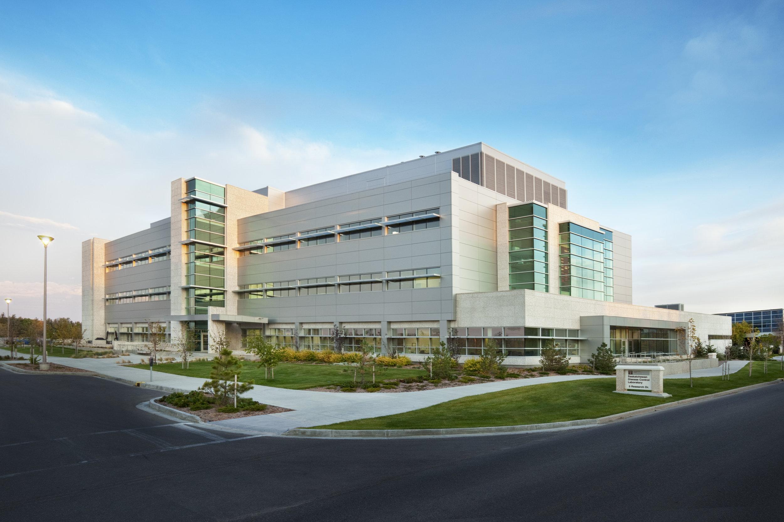 University of Regina Saskatchewan Desease Control Laboratory - Regina, SK