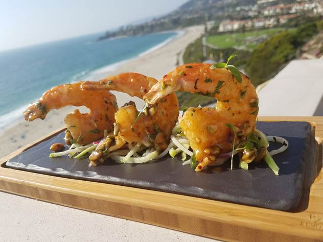 Piloncillo Prawns. Photo Credit: Ritz-Carlton Laguna Niguel