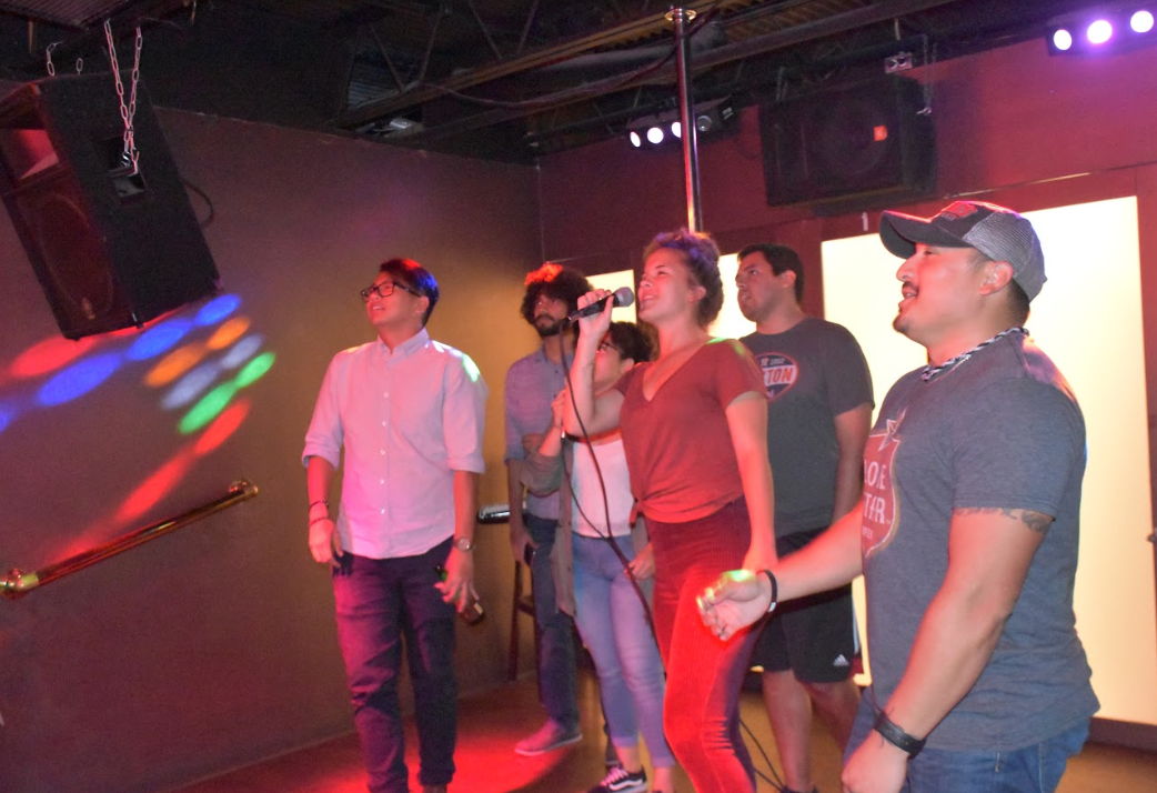 Karaoke with the Finance Association
