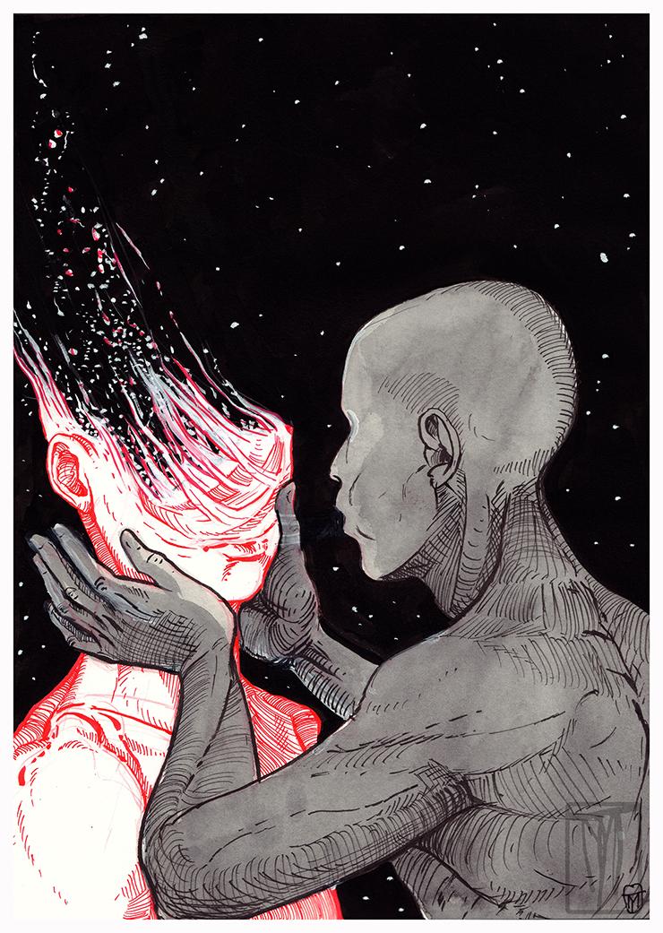 Dust (Inktober 2018)