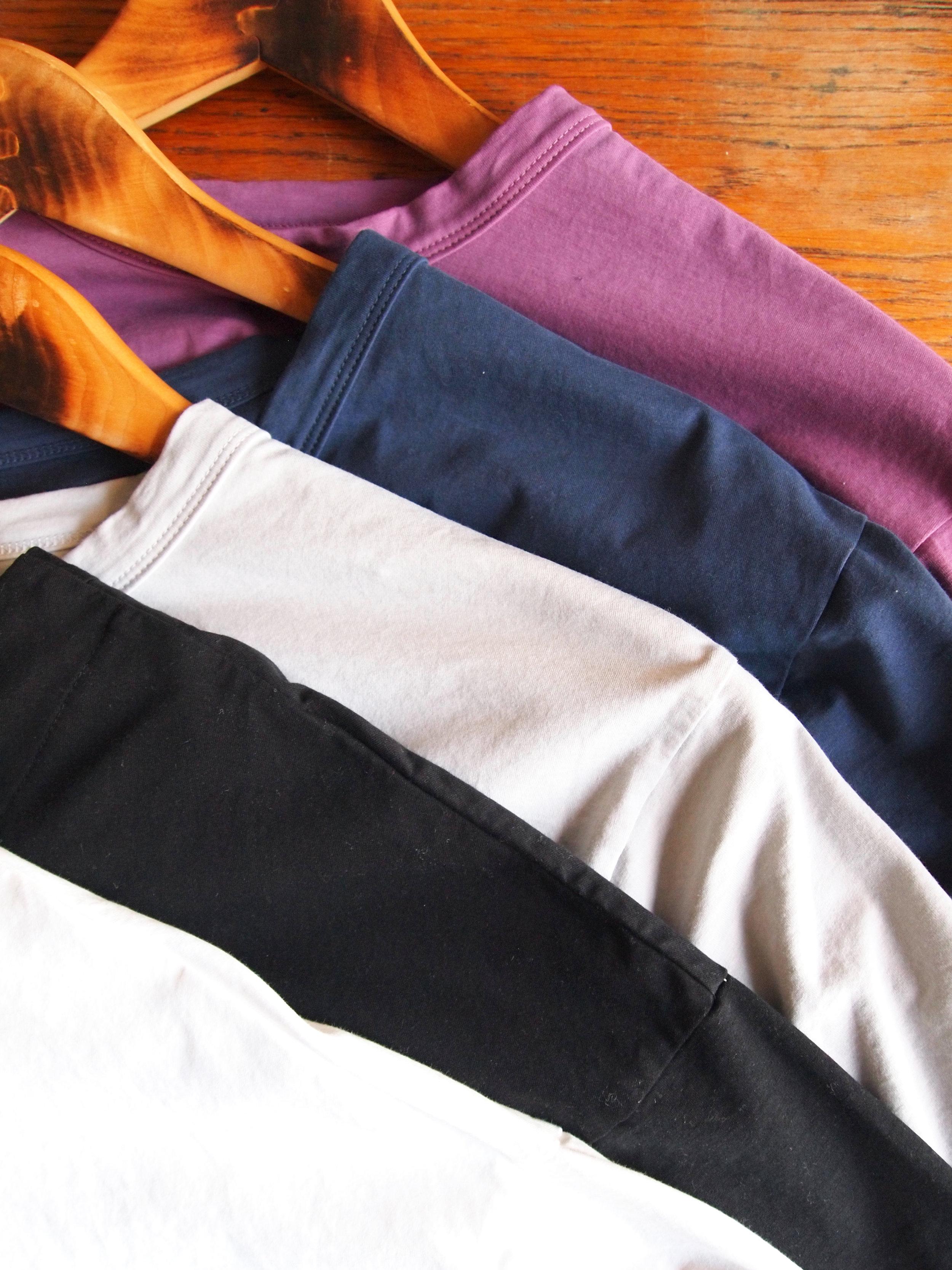 color; White, Black, Grey, Navy, Plum