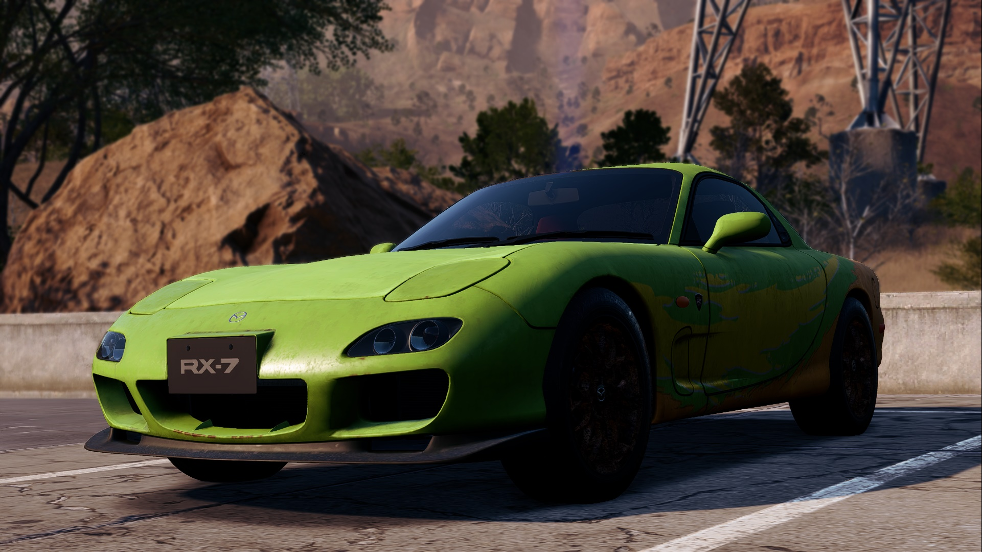 Need For Speed Payback Abandoned Cars Location Guide Mazda Rx7