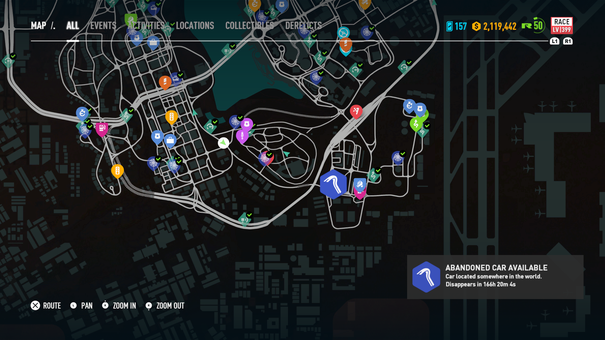 Need For Speed Payback Abandoned Cars Location Guide Crown Victoria Police Car The Nobeds