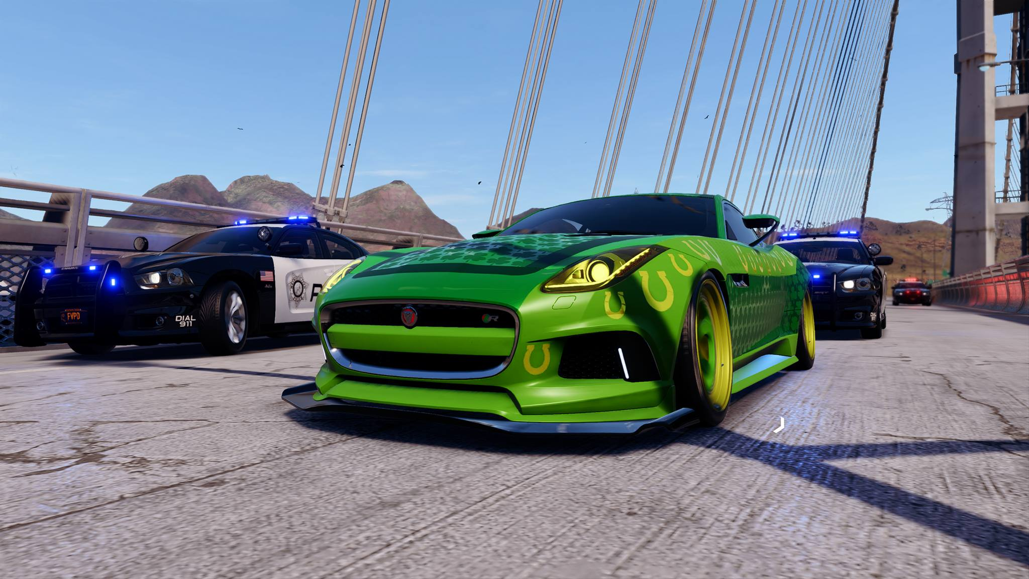 Need For Speed Payback Abandoned Cars Location Guide Jaguar F Type St Patricks Days Special The Nobeds