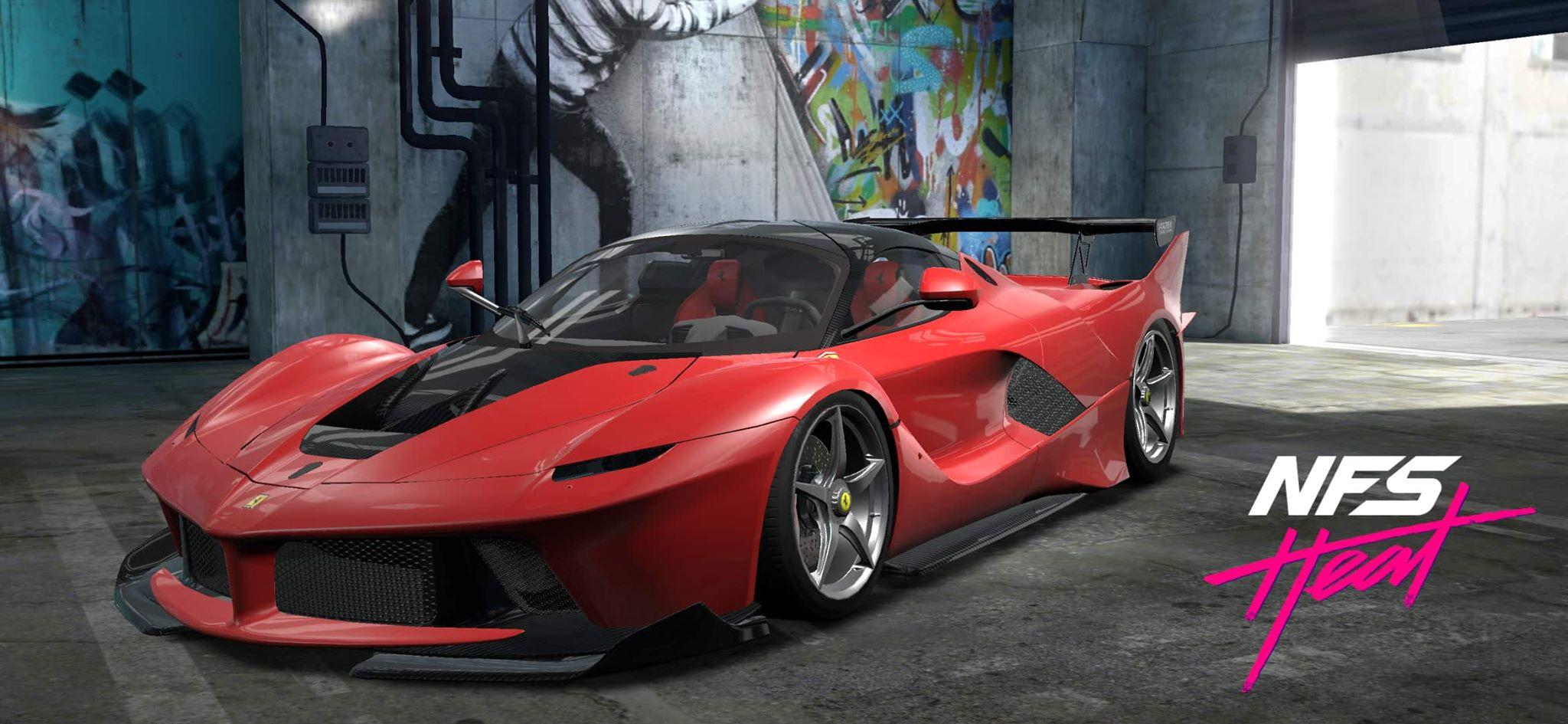 Need For Speed Heat Studio Drop 8 Adds Ferrari Laferrari Mclaren 600lt And More The Nobeds