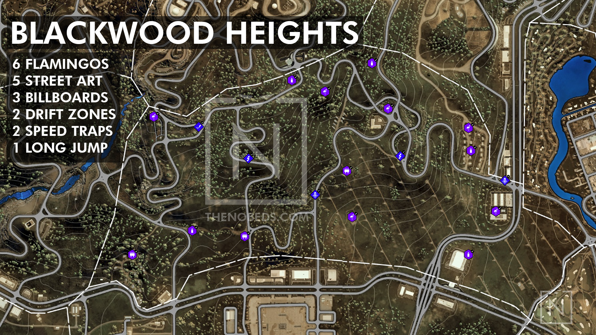 Need For Speed Heat All Collectibles And Activity Locations