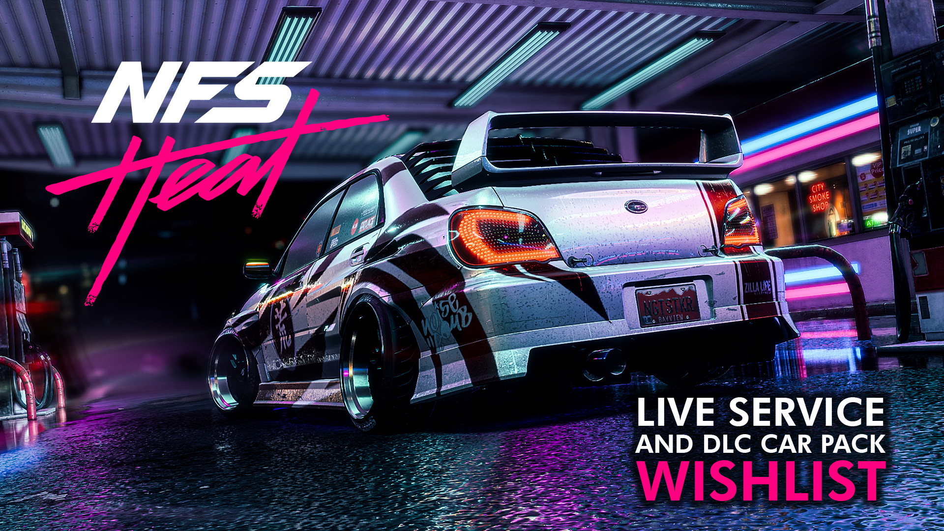 Need For Speed Heat Post Launch Content Wishlist Live Service And