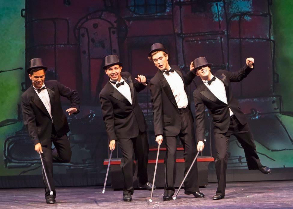 Farm Boys, Gypsy  LTR (Little Theatre of the Rockies)