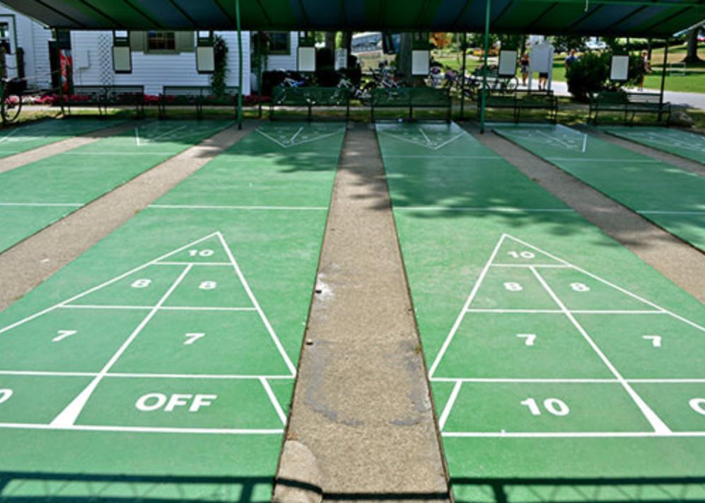 Shuffleboard Courts -