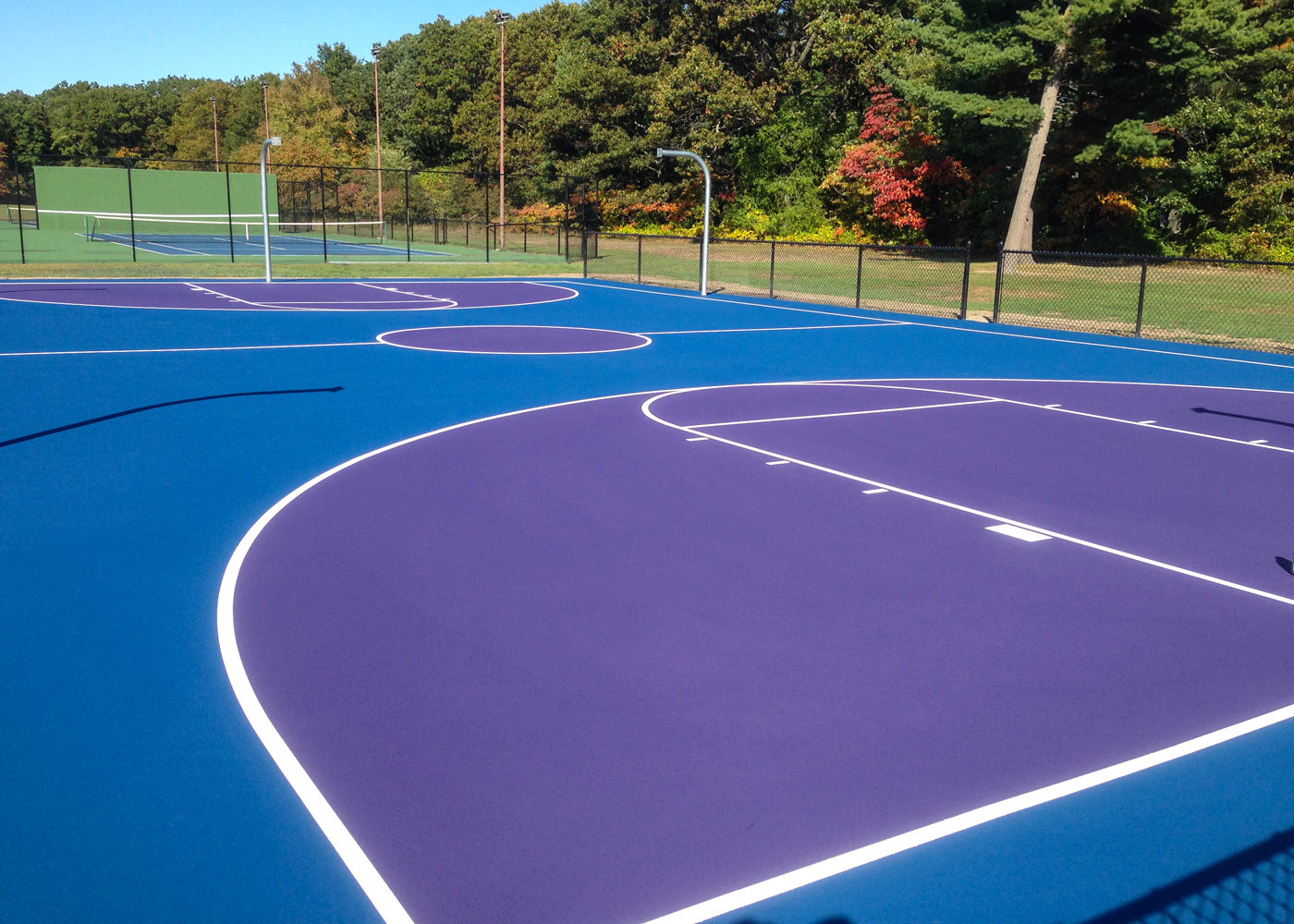 Basketball Courts -