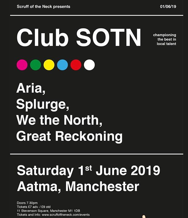 1st June at Aatma. Be there 😎