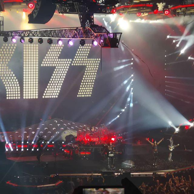 KISS #kissfarewelltour #kissband #kisslive  #manchesterarena