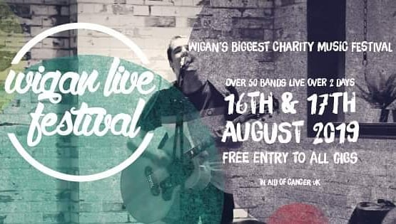 We are playing this Saturday night at The Boulevard in Wigan as part of #wiganlivefestival. #freeentry and money is being raised for #macmillancancersupport💚