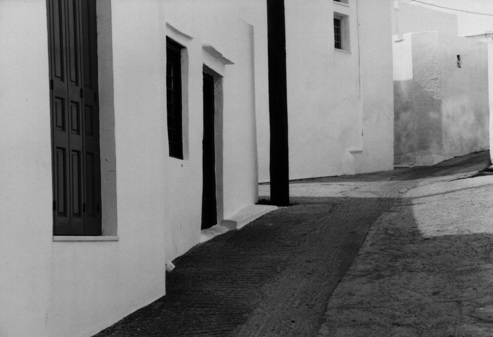 Quiet street, Greece