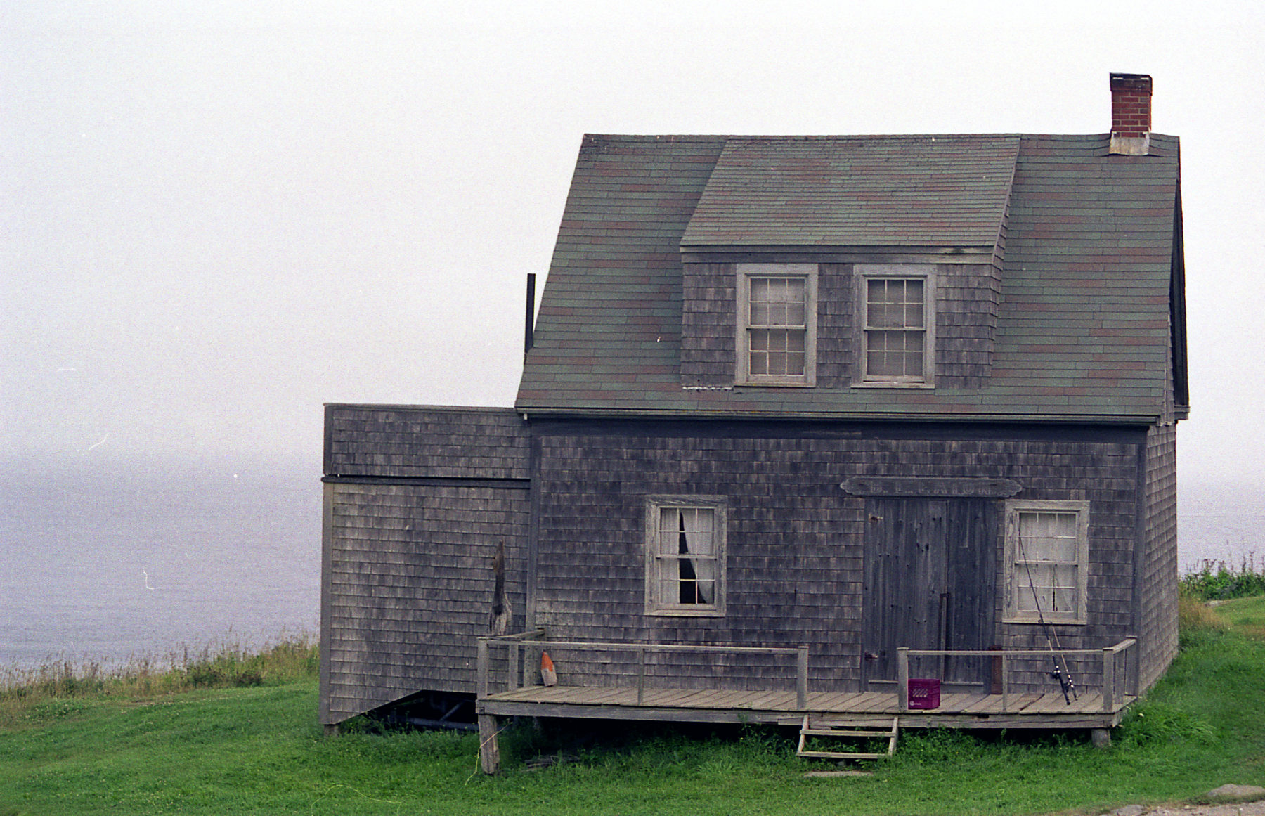 Maine house, isolated