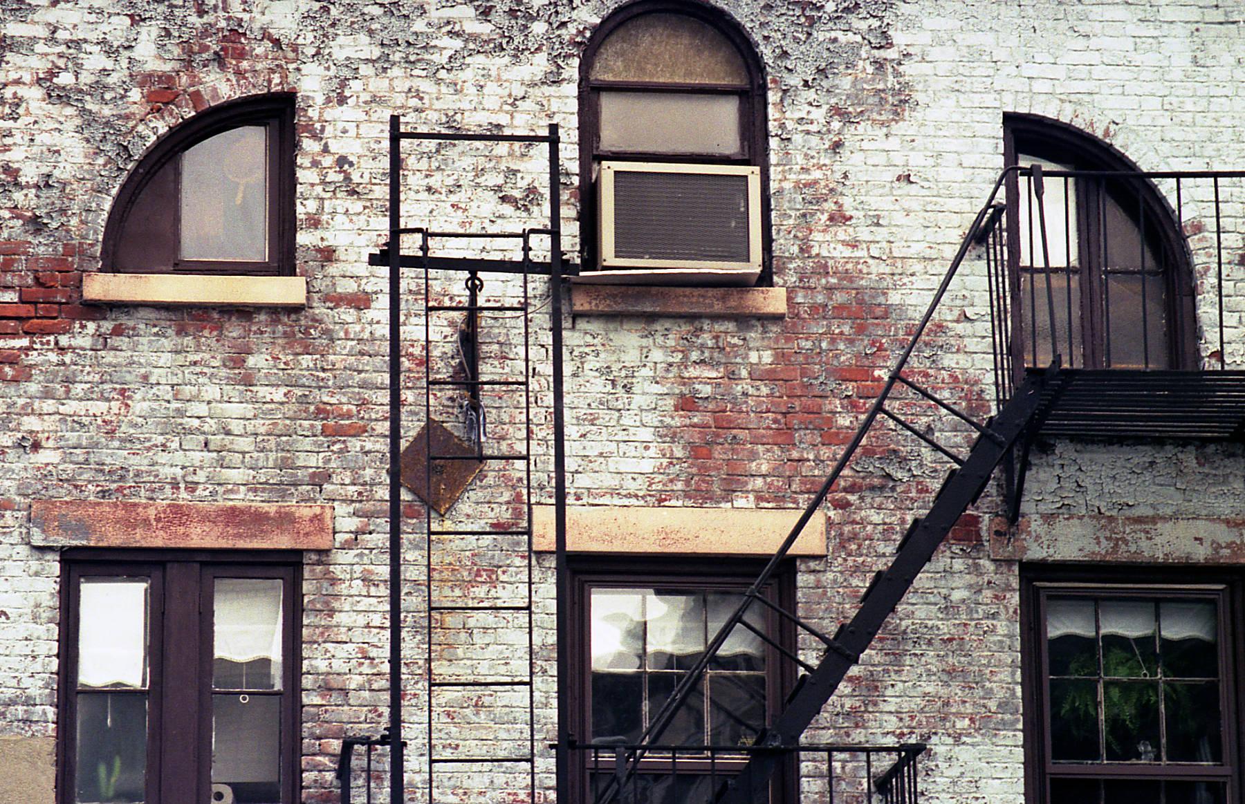 Manhattan building facade