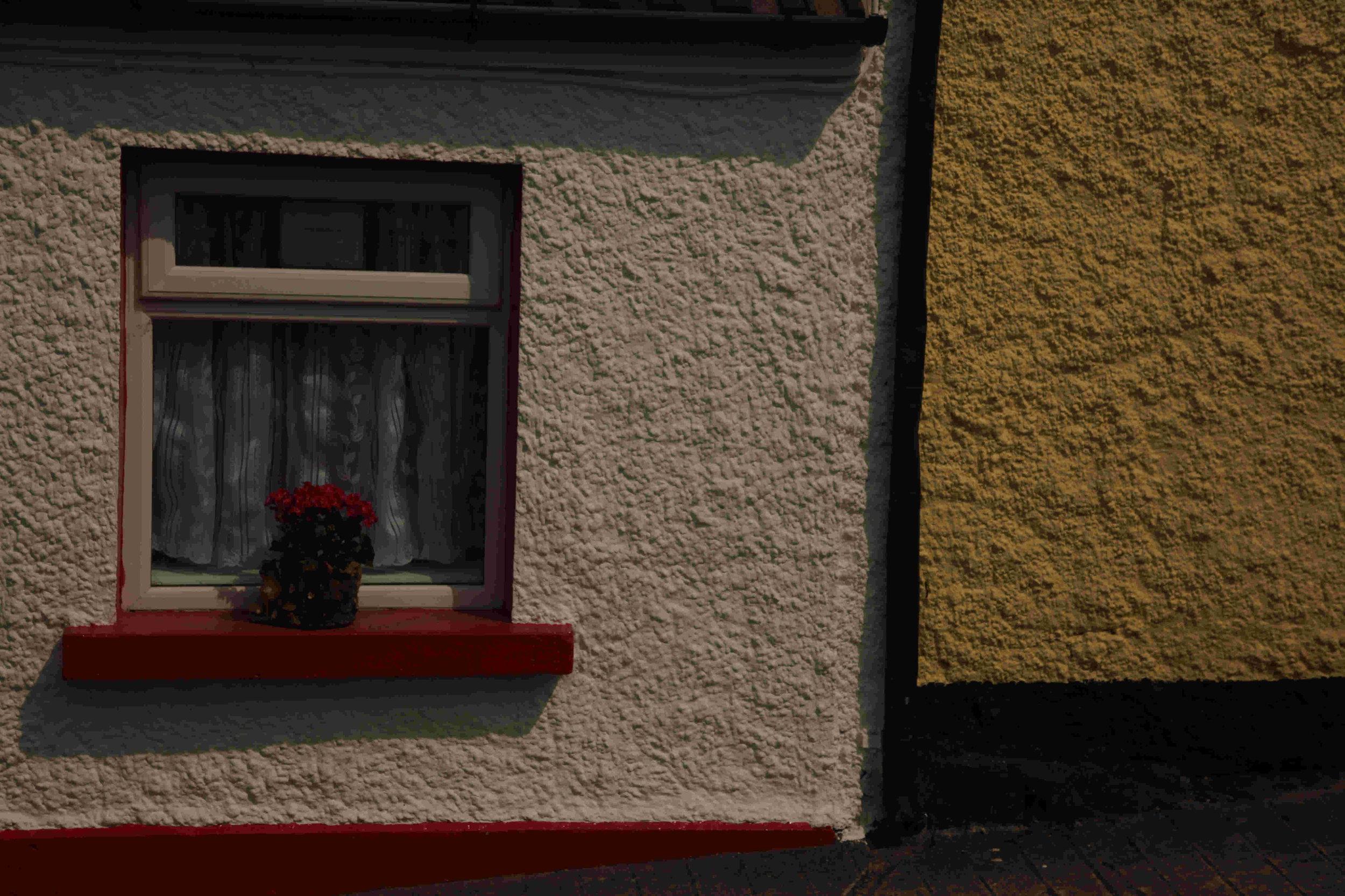 Window sill, Spain