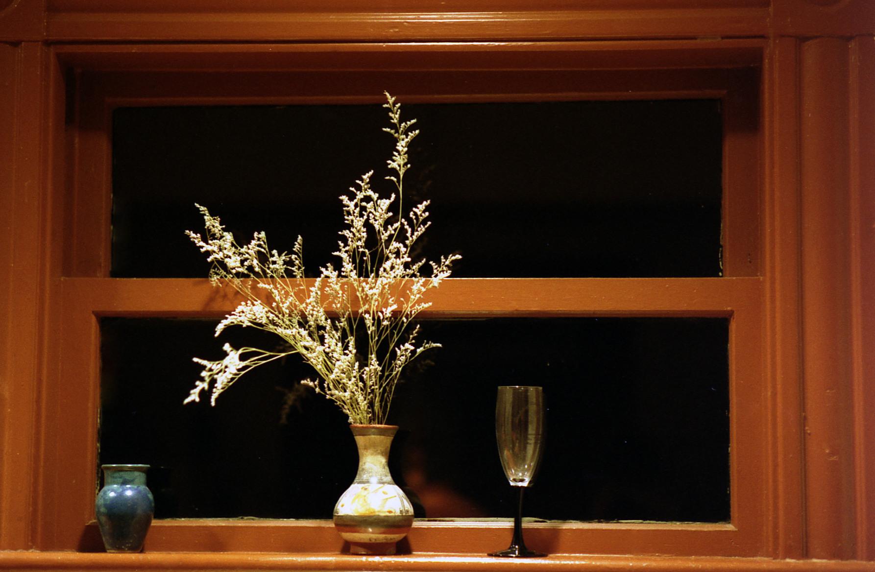 Kitchen window sill, Somerville MA