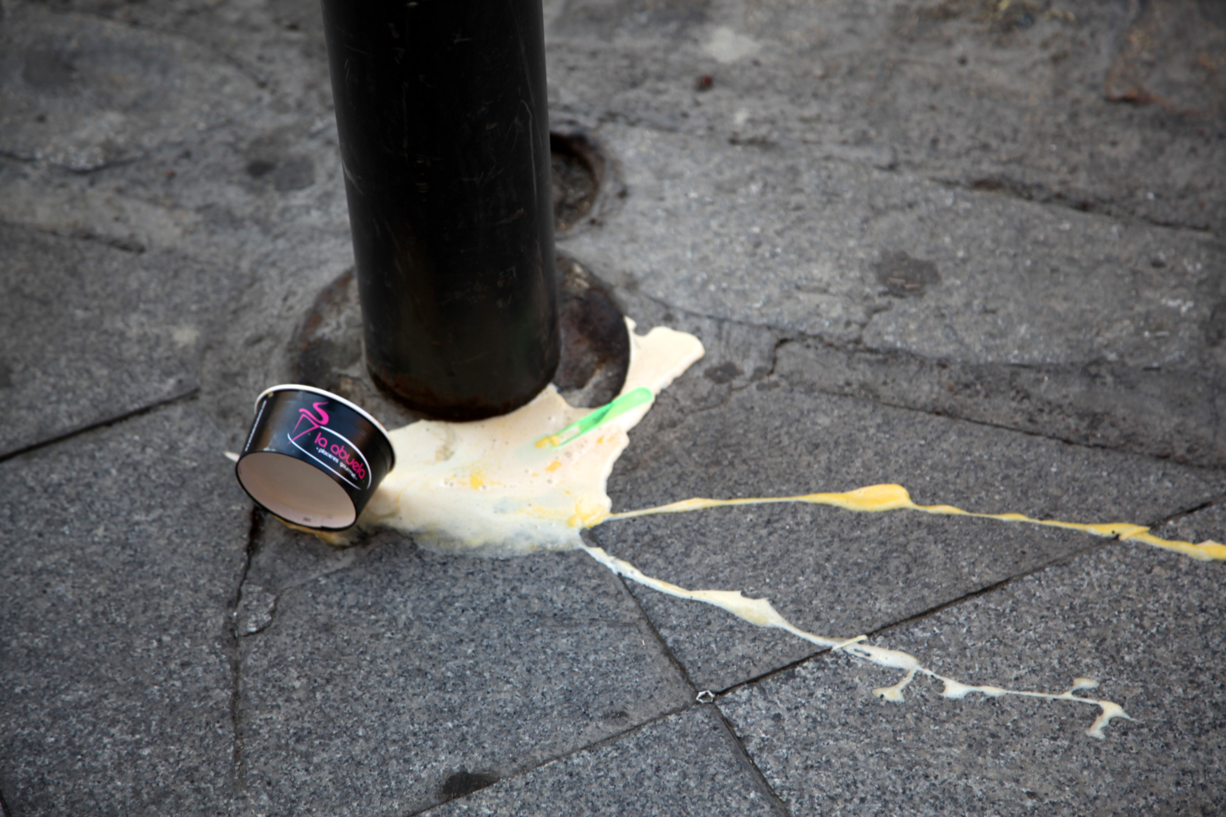 Fallen yogurt, Ireland