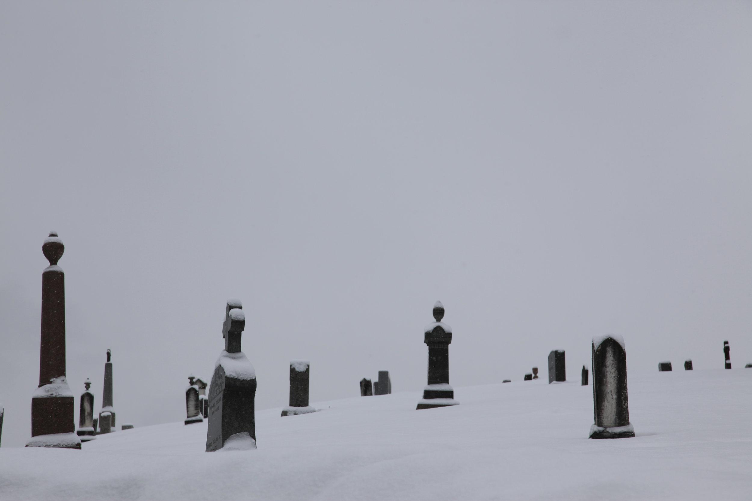 Graveyard, western Mass