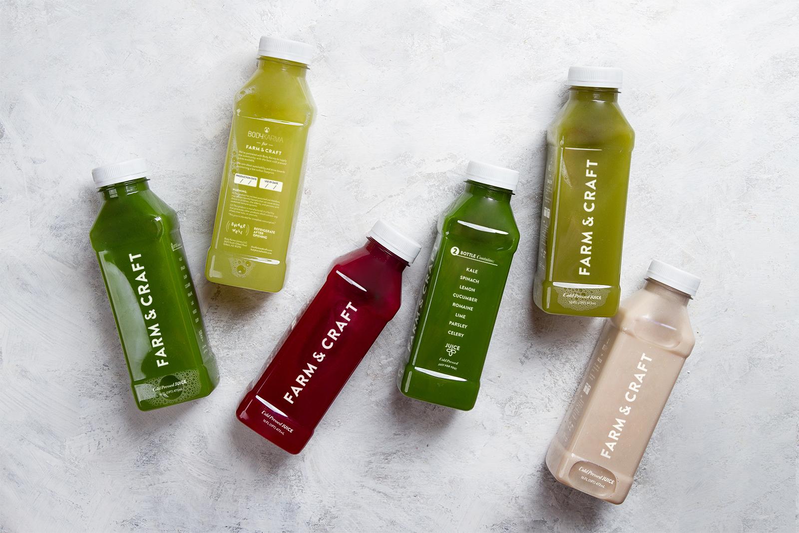 Packaging: Cold Pressed Juice
