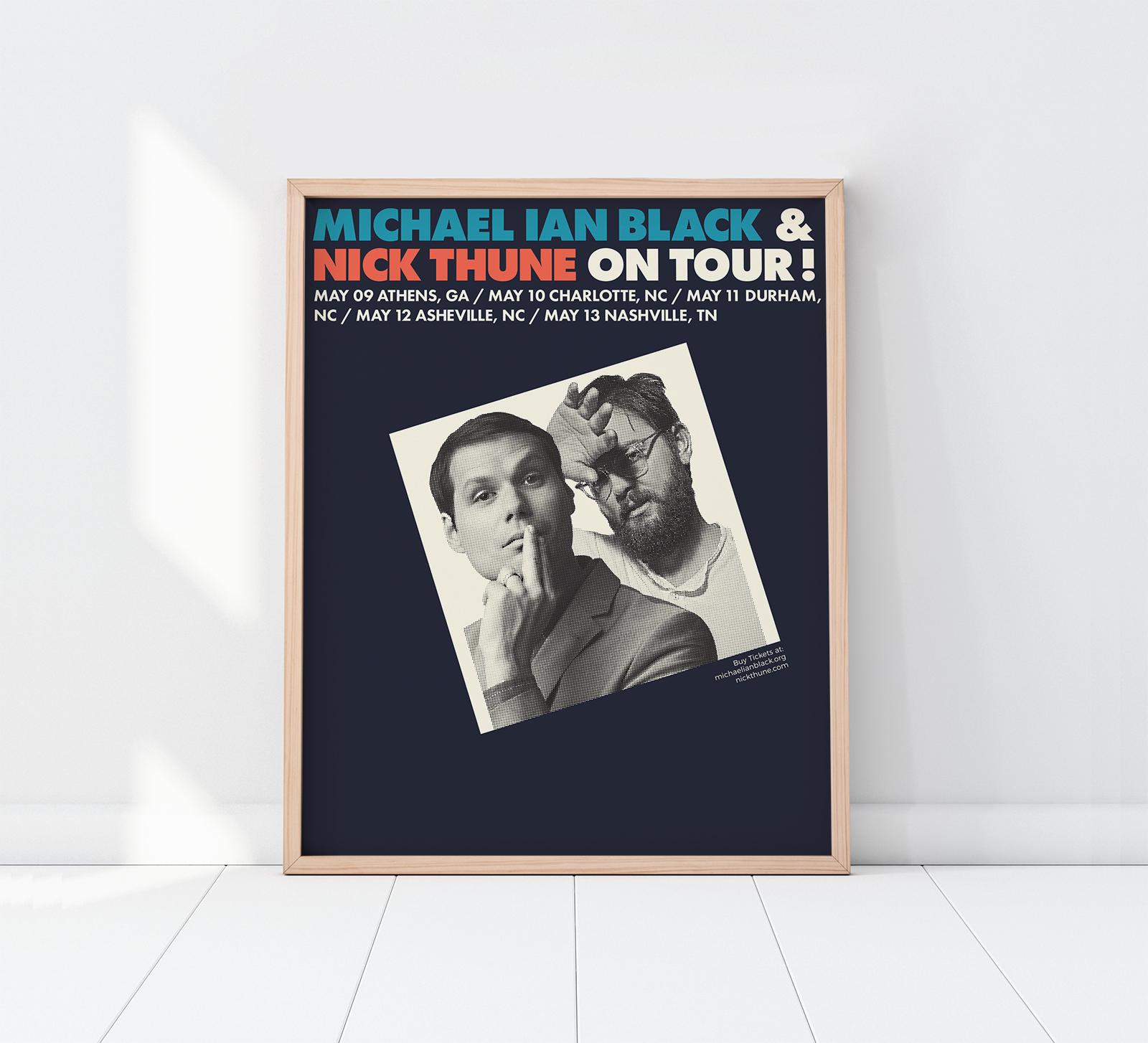 Michael Ian Black & Nick Thune: On Tour