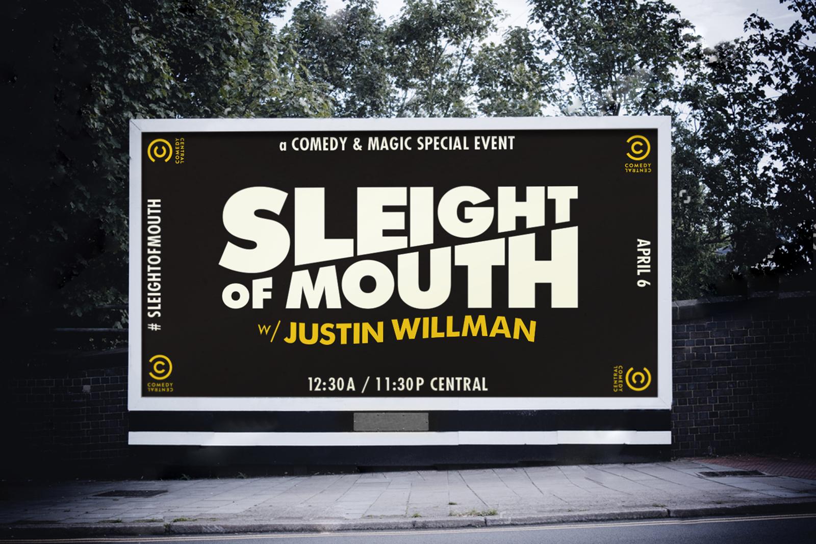 Comedy Central: Justin Willman Special