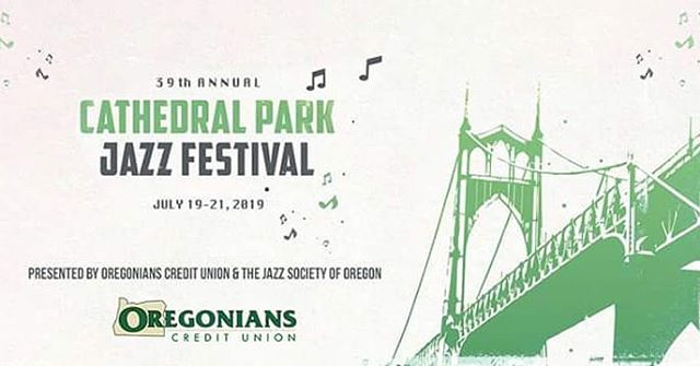 We are so excited about our Presenting Sponsor - Oregonians Credit Union #sponsor #jazz #livemusicisbest #thankyou