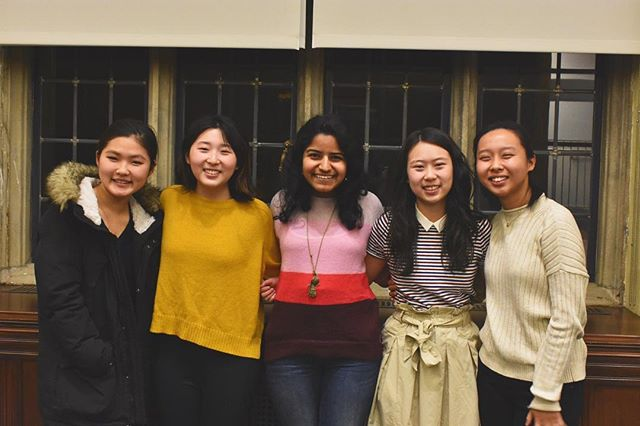 A belated post, but please welcome our wonderful board mentees: Cerinn Hwang, Alice Ku, Rupa Palanki, Sarah Kim, and Kat Hsu. Congrats!