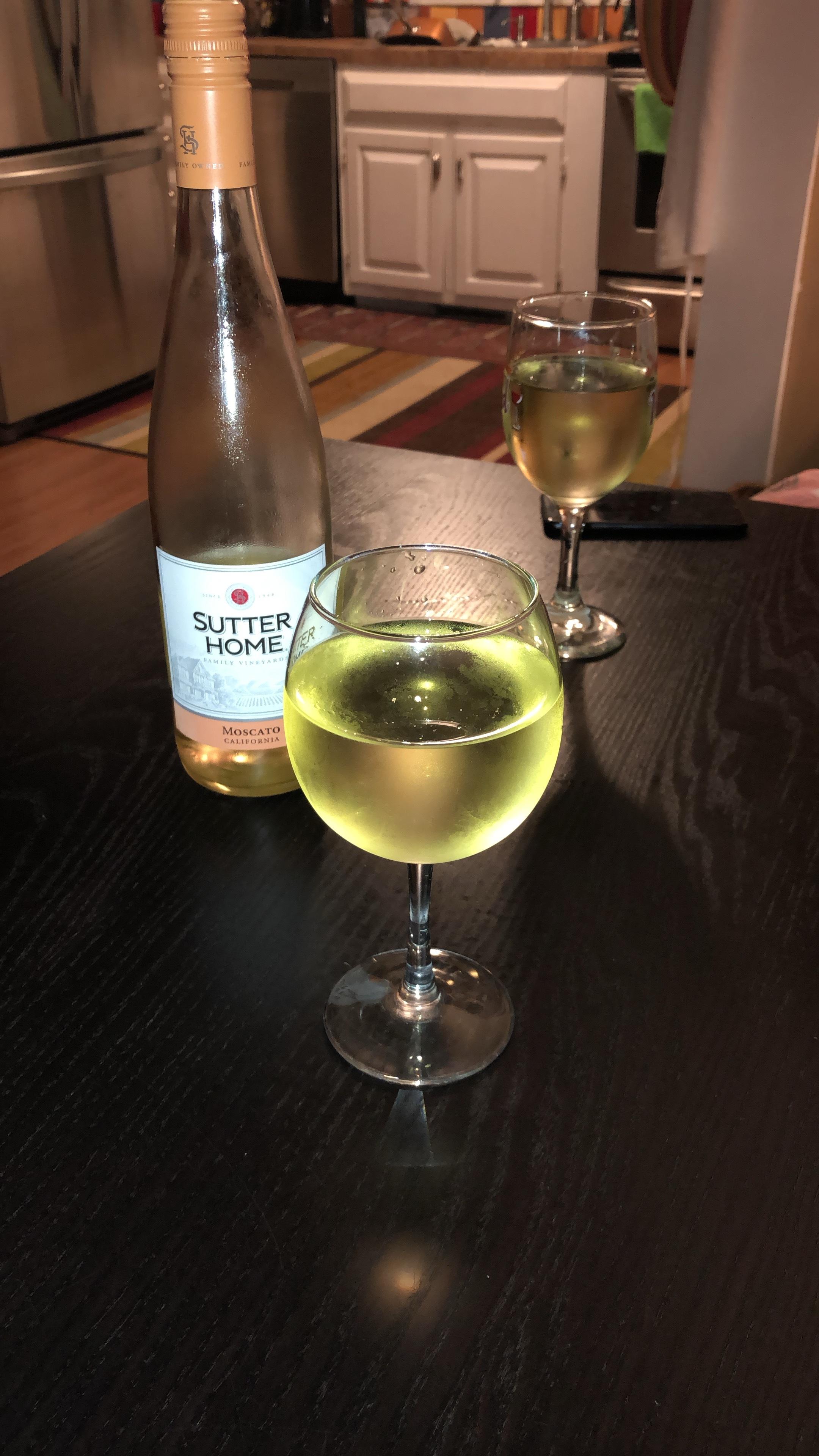 Wine nights with roomie!