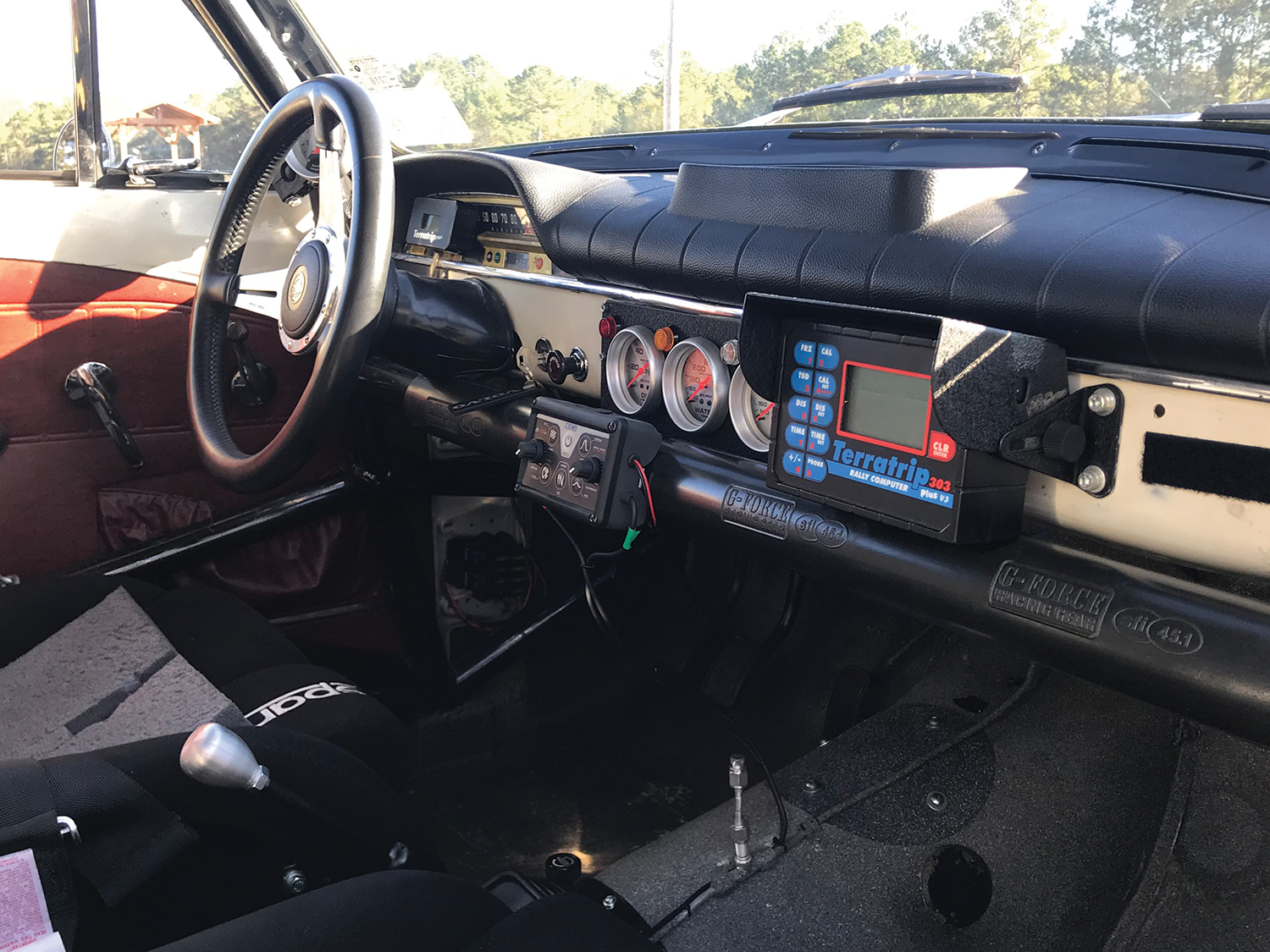 1965 Volvo Amazon 122S Cockpit