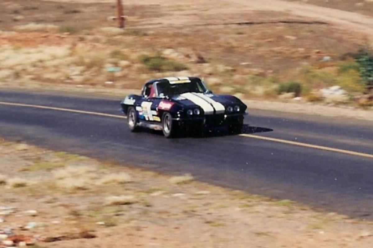 VRS 1963 Corvette at La Carrera Panamericana